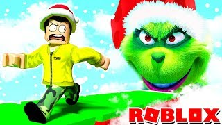 SAVING CHRISTMAS FROM THE GRINCH IN THE ROBLOX