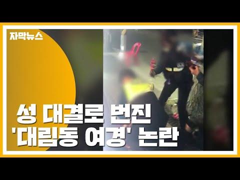 [자막뉴스] 성 대결로 번져버린 '대림동 여경' 논란 / YTN
