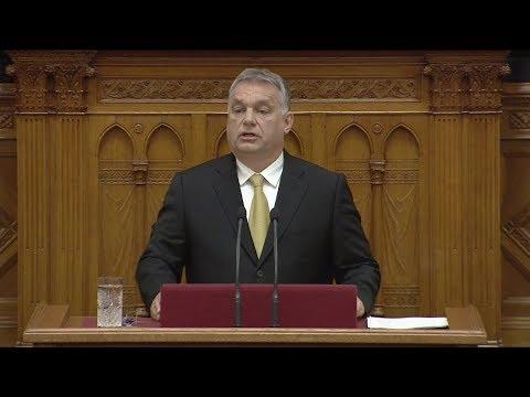Orbán Viktor negyedjére lett miniszterelnök - Országgyűlés 2018.05.10.