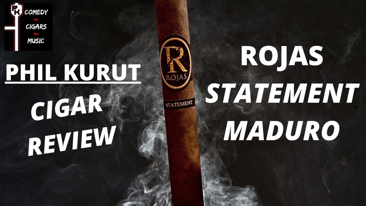 ROJAS STATEMENT CIGAR REVIEW