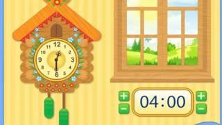 Учим время (часы)