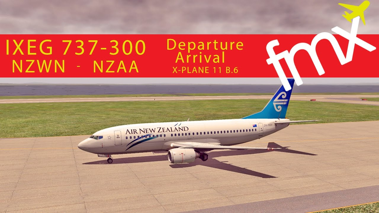IXEG 737-300 in X-Plane 11 Beat 6