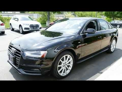 Used 2015 Audi A4 Nashua, Manchester, NH #EG1179