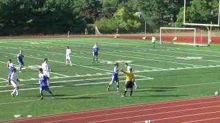 Acton Boxborough Varsity Boys Soccer vs Newton South 9/23/14