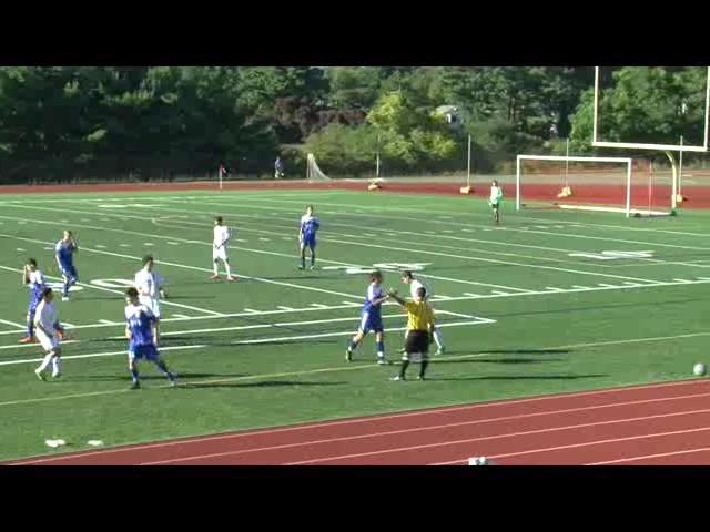 Acton Boxborough Varsity Boys Soccer vs Newton South 9/23/14