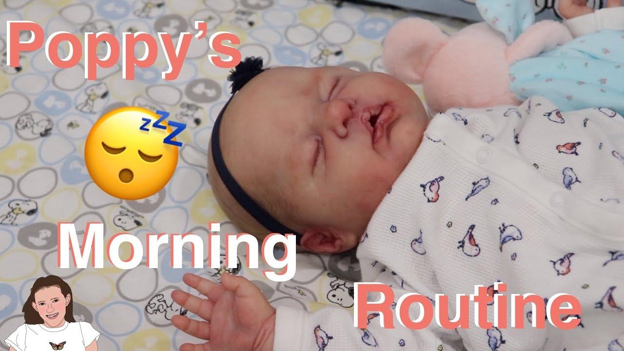 Reborn Baby Poppy S Morning Routine Kelli Maple Youtube