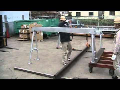 Toko Portable Aluminum Gantry Crane Ar Type Quot Yamagoshiki