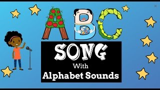 ABC Song with Alphabet Sounds - Easy Kids Songs