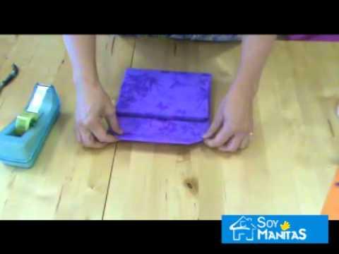 C mo envolver regalos con forma de bolso youtube - Envolver regalos de forma original ...