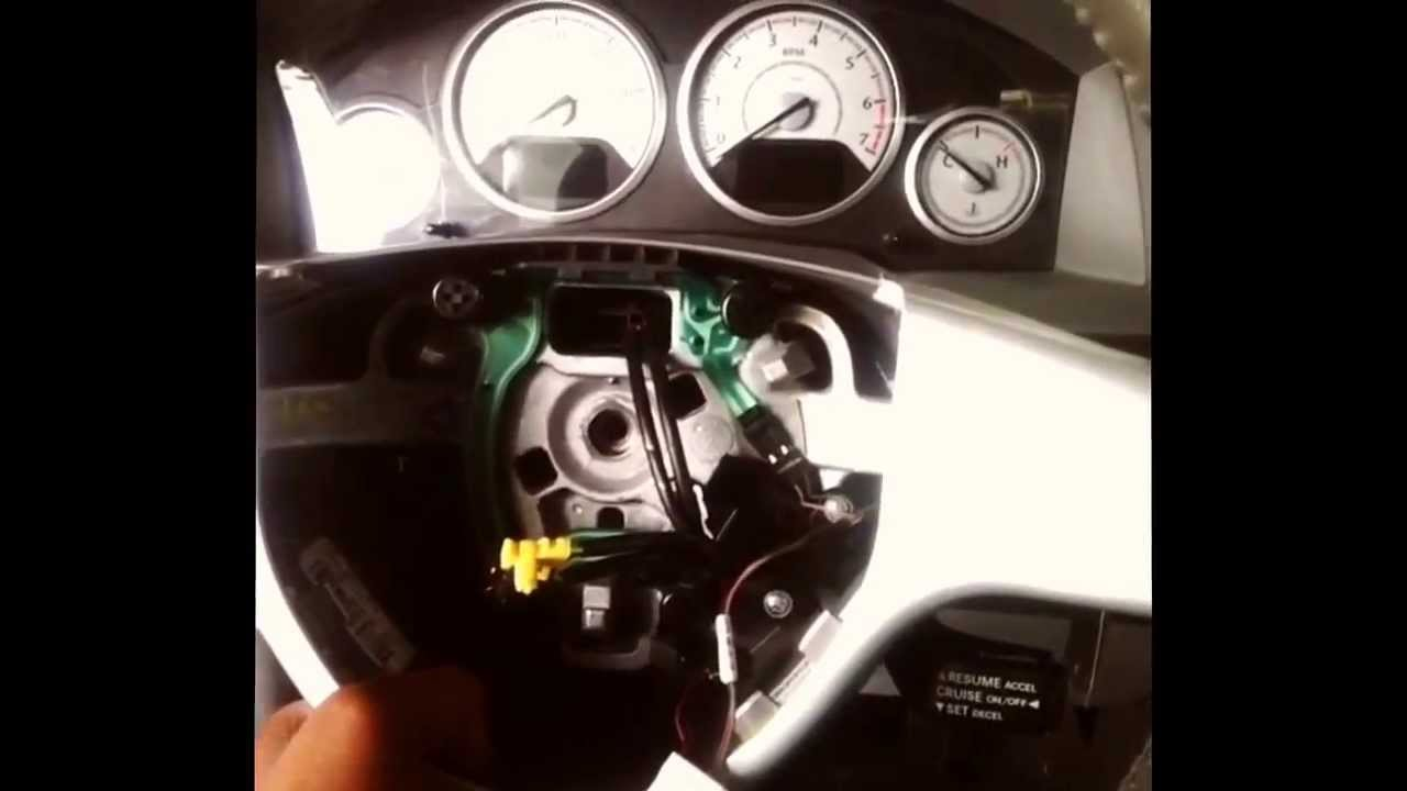 Steering Angle Sensor Replacement on 09 dodge grand