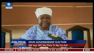 APC,PDP Face Off On Issues Surrounding Osun Governorship Election  Pt.1 |Politics Today|
