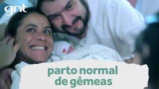 Parto normal de gêmeas: 11 horas de trabalho de parto | Partos Emocionantes