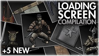 The Senile Scribbles: Skyrim - All Loading Screens (+5 New)