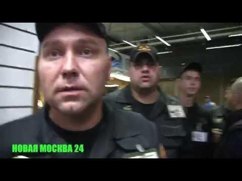 Нарушение прав журналиста в FOOD CITY - Фуд сити (экшен камера) - НОВАЯ МОСКВА 24