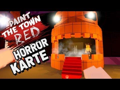 Paint The Town Red Gameplay German - Die Horror Karte