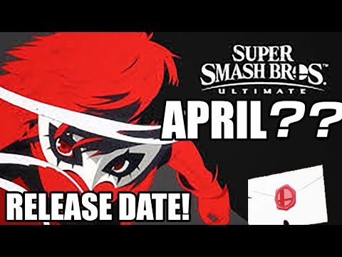Joker Smash Bros Ultimate RELEASE DATE! thumbnail