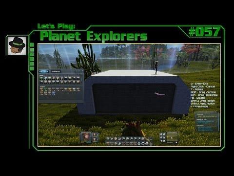 Let's Play: Planet Explorers #057 -Basis im Bunker-Design? Nee