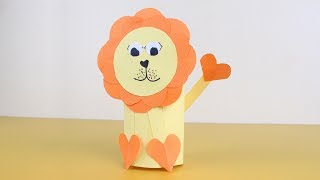 Origami Lion Easy Tutorial | How to Make a Paper Lion | Origami Animal