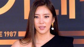 [4K직캠] '2019 KBS 연기대상' 손담비(Son Dam Bi), 향미 신인상 받았어요(191231)(…