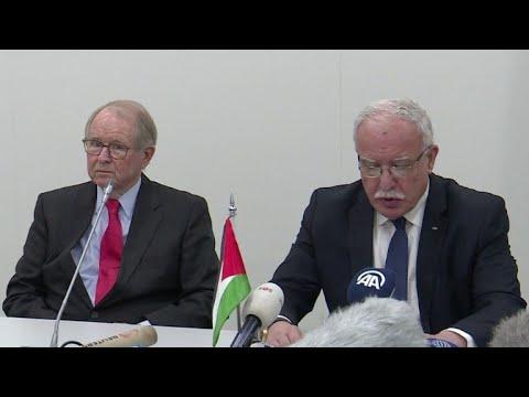 Palestinos piden a CPI investigar