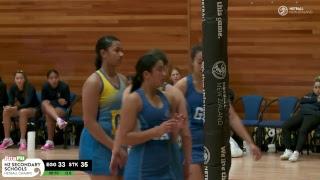 Epsom Girls v St Kent's - 3rd place playoff Pita Pit NZSS Netball Champs 2018