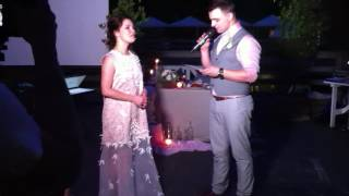 Костя читает стихи на свадьбе IMG 6681