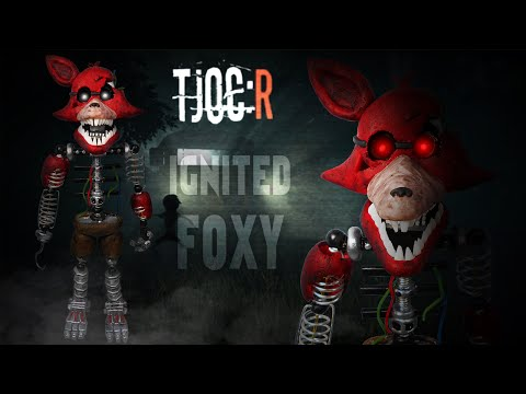 TJOC:R ✰ IGNITED FOXY Posable Figure Tutorial ✔ Polymer Clay