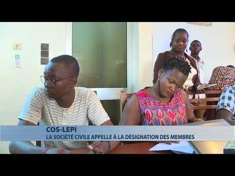 La société civile appelle à la désignation des membres du Cos-Lépi