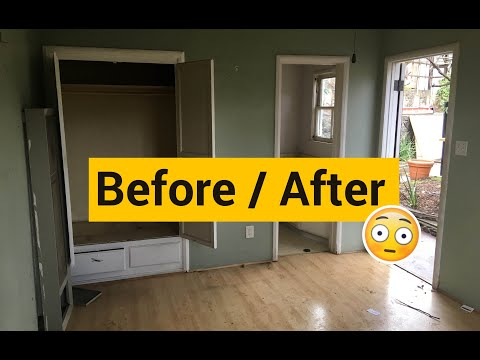 how-to-convert-a-garage-to-living-space- -garage-conversion-video-tour