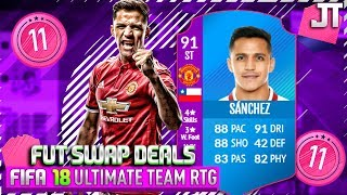 HOLY SH*T 91 ST ALEXIS SANCHEZ FUT SWAP IS AMAZING! - FIFA 18 ULTIMATE TEAM