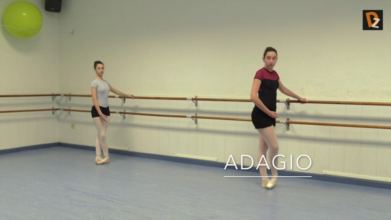 Barra danza de clasica ejercicios