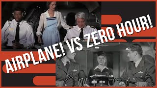 Side-by-side comparison: Zero Hour! (1957) Vs Airplane! (1980)