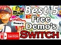 Best 5 Free Demo Games On Nintendo Switch