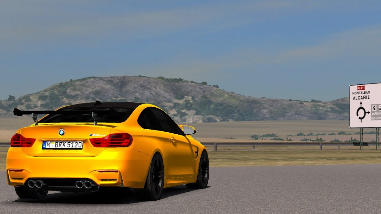 1 32 Euro Truck Simulator 2 Bmw M4 M3 Pack Mods Youtube