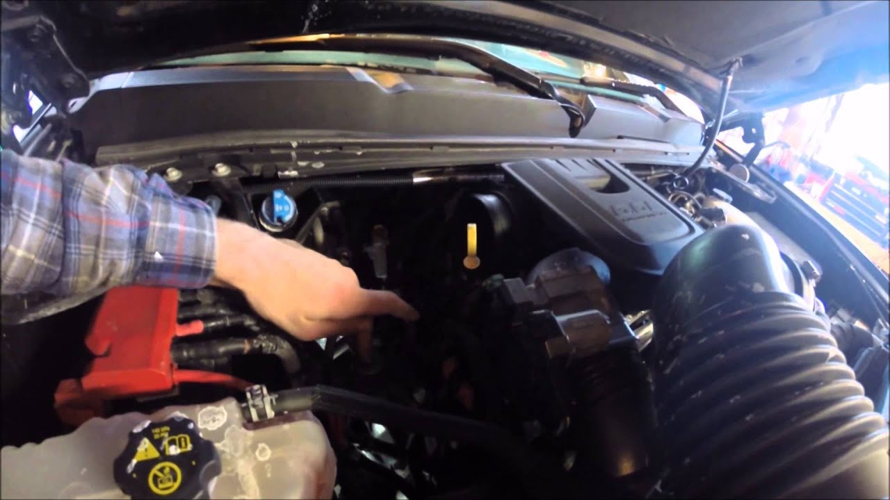 how to change fuel filter on duramax LML 2011 2015 - YouTube