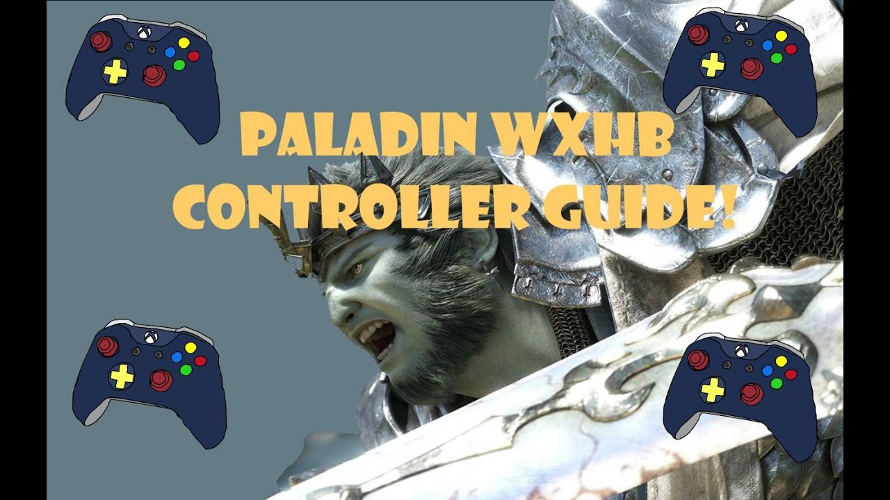 Final Fantasy XIV Paladin Controller and Tanking Guide with Double Cross  Hotbar