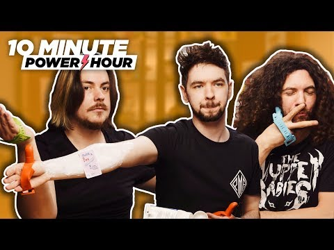 No Thumbs, No Problem (ft. Jacksepticeye) - Ten Minute Power Hour