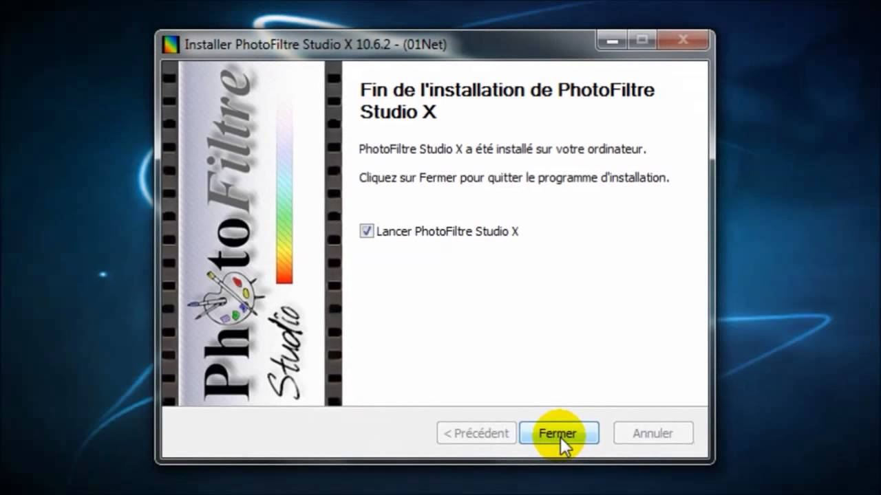photofiltre studio sur 01net