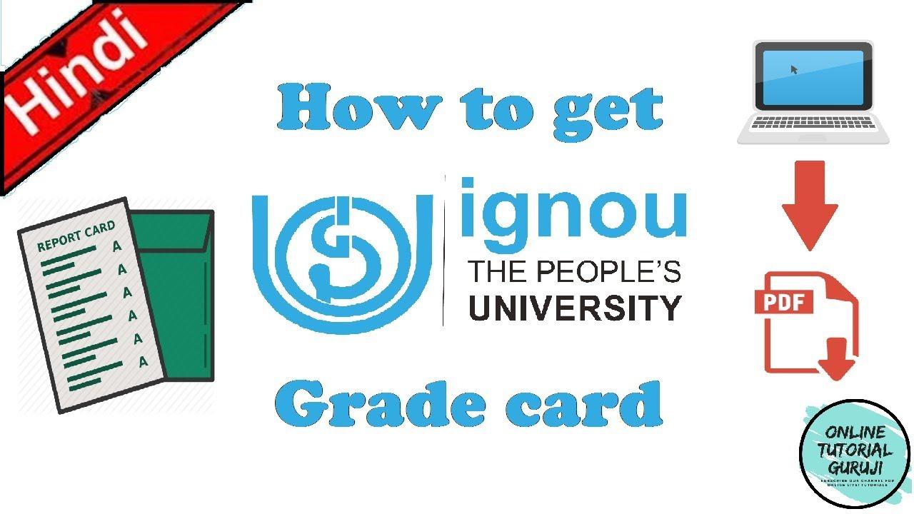 Ignou Grade Card Pdf