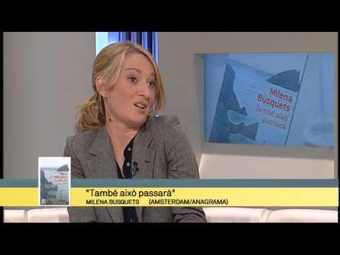TV3 - Els Matins - Milena Busquets ens parla de 'També això passarà'