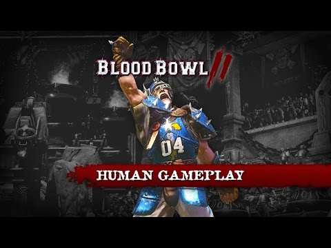 BLOOD BOWL 2: HUMANS BASIC MOVES - GAMEPLAY