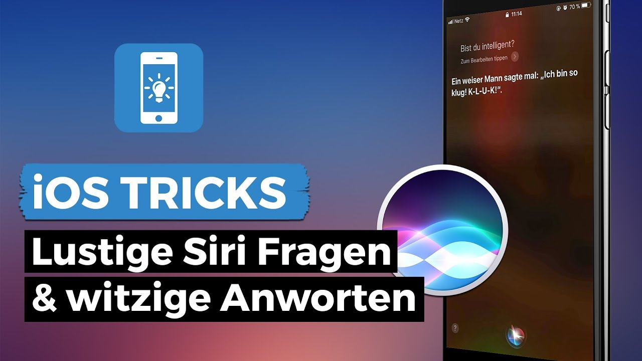 Siri Fragen Lustig Iphone