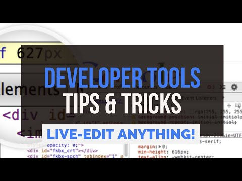 Live-Edit Websites Easily With Chrome Developer Tools [3 EPIC TRICKS]