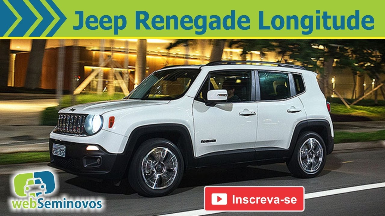 jeep renegade longitude 4x4 a diesel 170 cv youtube. Black Bedroom Furniture Sets. Home Design Ideas