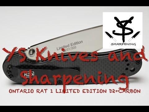 Не удержался! Ontario Rat 1 Limited Edition D2 + Carbon