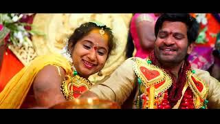 Satish and Harika Cinematic Wedding Teaser || Wedding Highlights