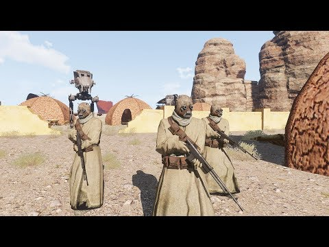 EPIC ARMA - Star Wars Tusken Raider Evacuation