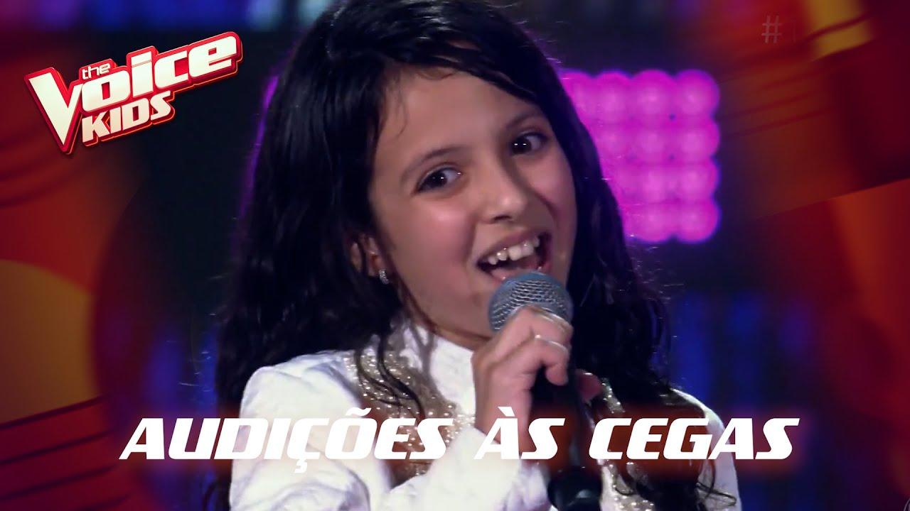 Luisa Simões canta 'Falsa Baiana' nas Audições às Cegas – 'The Voice Kids' | 6ª Temporada