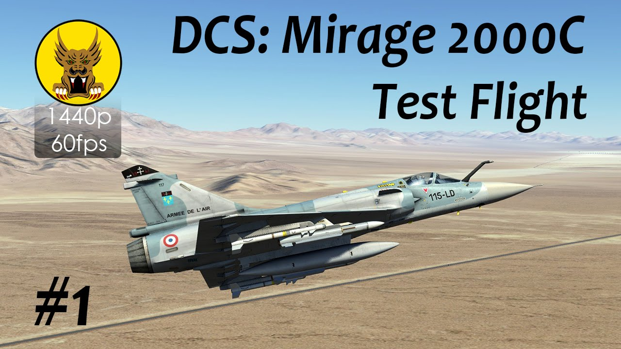 Test Flight - DCS: Mirage 2000...