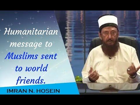 Shaikh Imran Hosein Dajjal - Humanitarian message to Muslims sent to world friends.2018 | Interview.